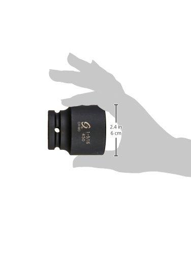 Sunex 0450 3//4-Inch Drive 1-9//16-Inch Impact Socket Sunex International