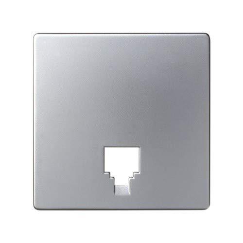 82062-33 tapa toma telefono s-82 aluminio mate Ref Simon 6558233245