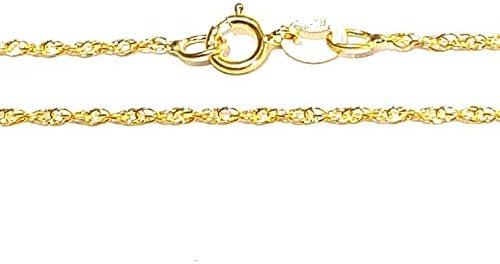 9CT GOLD ITALIAN ROPE CHAIN PRINCE OF WALES TWIST LADIES BRACELET GIFT BOX
