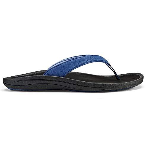 OLUKAI Women's Kulapa Kai Sandals, Navy/Black, 9 M ()