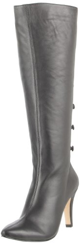 Ros Hommerson Women's Tanya Wide Knee-High Boot,Black Softy,9.5 WW US