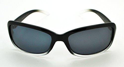 Mode W Smoke classique soleil Black de microfibre Frame gratuit Lunettes polarisées Lens étui qualité femme Hot pour Clear haute Vox tendance wpB7qF0w