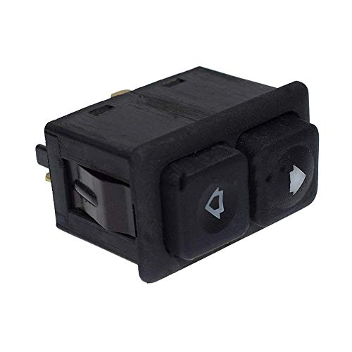 Bmw Sunroof E30 318i (Younar 5 Pin Front Illuminated Electric Sunroof Switch for BMW E24 E28 E30(Pack of 2))