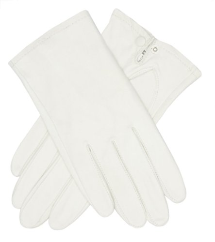 - Tough Gloves Men's Ultra Thin Officer Dress Leather Gloves Size 9 Color White