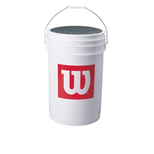 [Wilson Bucket of Blem Baseballs (3 dozen)] (High School Practice Ball)