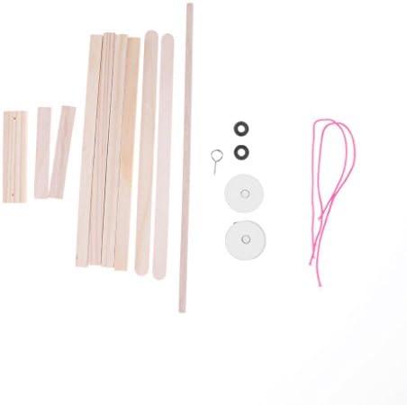 3D スイングモデル 木製パズル 教育おもちゃ 組み立て 知育玩具 DIY クラフト