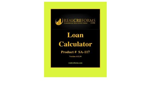 Amazon.com : Loan And Mortgage Calculator : Office Products