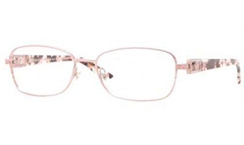 Pink Lens Frame Demo (Versace VE1216B Eyeglasses-1260 Pink Sandstrahlung-54mm)