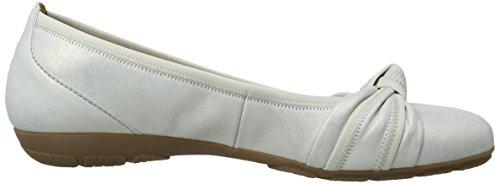 Bailarinas Gabor Silver Leather Rosalie L Cuero de Plateado Shoes Mujer 8wwqr4t