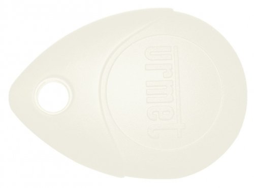 badge / clé de proximité - 13.56 - blanc - urmet memoprox/bc