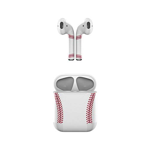 Price comparison product image Skin Decals for Apple AirPods - Baseball - Sticker Wrap