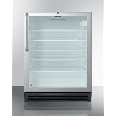 Summit SCR600BLCSSADA; Commercially Approved & ADA Compliant Compact Refrigerator