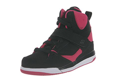 Nike Flight 45 High Black/Vivid Pink-Vivid Pink-White (Li...
