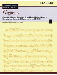 Wagner: Part 1 - Volume 11 CD ROM The Orchestra Musician's CD-ROM Library - Clarinet Clarinet Orchestra Musicians Cd Rom
