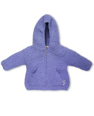 Kashwere Baby Hooded Jacket, Periwinkle, 12-18 Month Size: 12-18 Months Model: BH-51-97-28 (Newborn, Child, Infant) ()