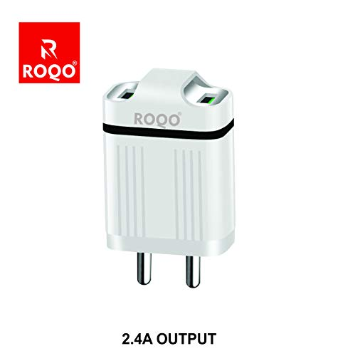 ROQO Mobile  amp; Laptop USB Charger Adapter  with Data Cable
