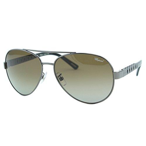 Chopard G.P.M.H. SCH-B12 Men Metal Gunmetal Racing Polarized Aviator - H&m Mens Sunglasses