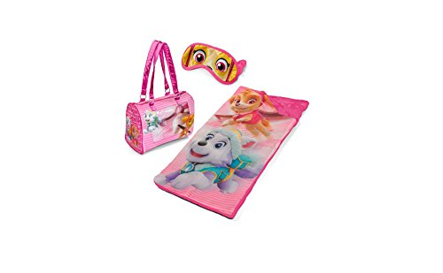 Paw Patrol Girls Sleepover Purse Set with Eyemask by Nickelodeon