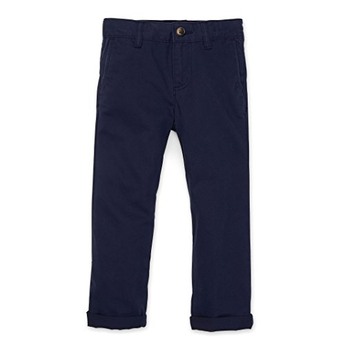 (Hope & Henry Boys' Navy Twill Chinos Size 2T)