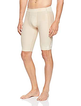 SKINS Men's Compression A400 Half 1/2 Tights Capri Shorts, Neutral, W0L