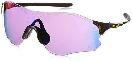 Oakley Men's Evzero Path Non-Polarized Iridium Rectangular Sunglasses, Carbon, 0 ()
