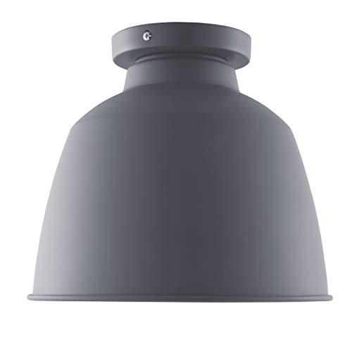 Southern Enterprises AMZ6928TL Averni Flush-Mount Pendant Lamp, Gray