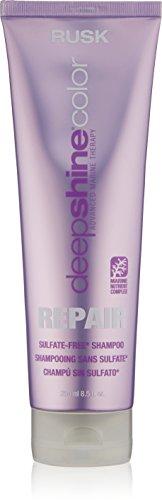RUSK Deepshine Color Repair Sulfate-Free Shampoo, 8.5 fl. oz.