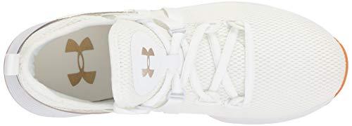 W Armour Ua bianco donna bianche Faded da Trainer metallico fitness Breathe Gold Scarpe da Under qFE5xwR1q