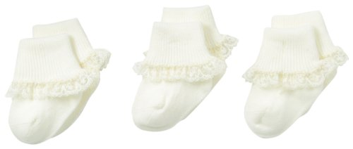 Buy ivory lace socks