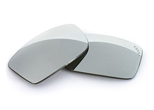 FUSE+ Lenses for Oakley Drop Point Chrome Mirror Polarized - Lenses Drop Point Oakley