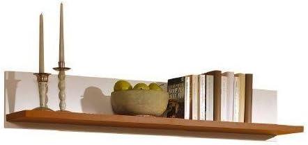Regal Wandboard Wandregal Landhausstil Walnuss Farben 675 Amazon De Kuche Haushalt