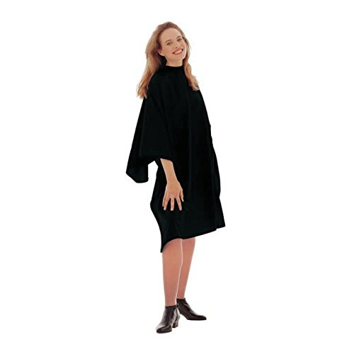 Cricket Haircutting Capes, Unicloth, Black