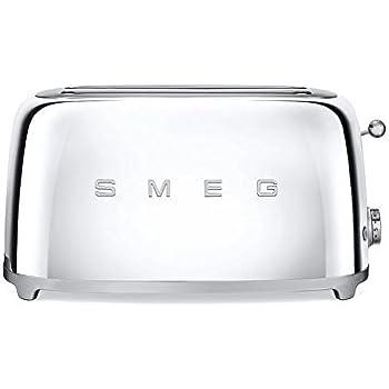 Amazon.com: Smeg tsf02pbus 50 s estilo Retro 4 Slice ...