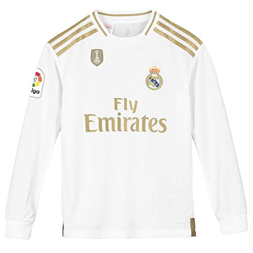 GOLDEN FASHION Real Madrid Home KIT 2019-20 Full Sleeve Jersey with Short with Champion and LALIGA Badge Price & Reviews