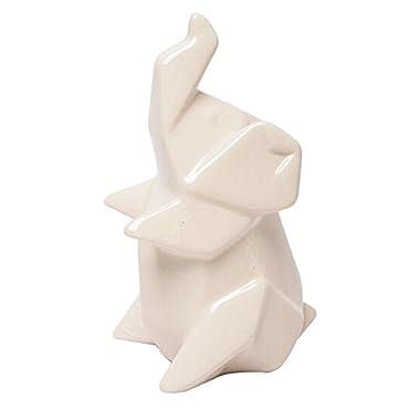 Hosley's 7  High Ceramic Elephant Decor