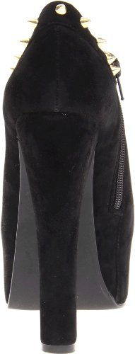Luichiny Womens Mighty Manquer Cheville Boot Noir