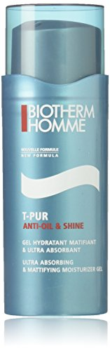 Biotherm Homme T-Pur Anti Oil and Shine Ultra Absorbing and Mattifying Moisturizer Gel, 1.69 Ounce