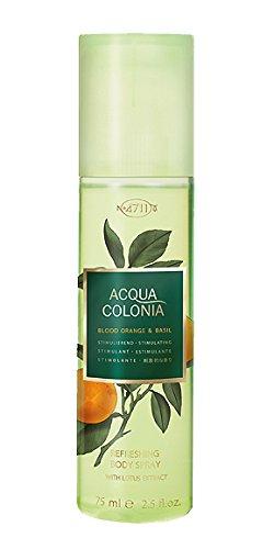 4711 Acqua Colonia Naranja Sangre y Basilio unisex, rociador corporal, Vaporisat Rocíe 2,