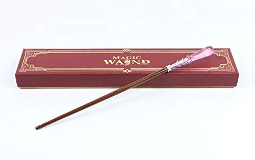 Cultured Customs Magical Wand Replica - Prop Cosplay Steel Core Replica Figure + Free Bonus Collectible Trading Card (Seraphina) ()