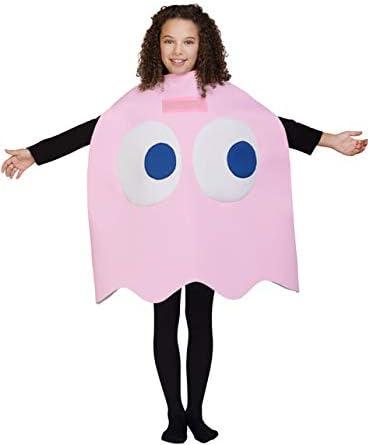 Funidelia Disfraz de Fantasma Pac-Man Pinky Infantil: Amazon.es ...