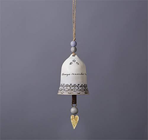 Ceramic Bell Ornament - Studio M Sending Prayers Ceramic Bell