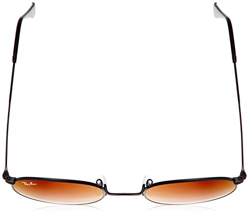 Sol de Hombre Negro Ray Shiny Black para Ban Mirrorgradientred Gafas qSaww4v