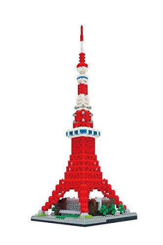 (Nanoblock Tokyo Tower Deluxe Edition Building Kit)