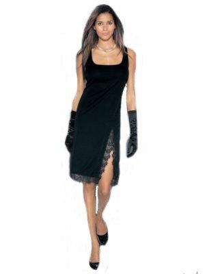 SpitzeGröße Kleid Das Heine Schickes Mit Kleine Schwarze 38 NkwO80PnX