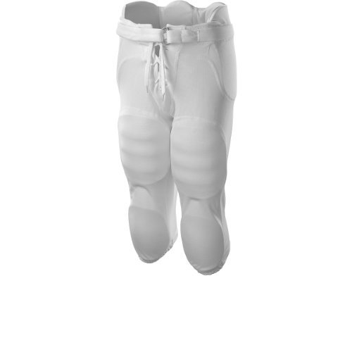 Wilson YOUTH Football Redi-Play Practice Pant - White (XS)