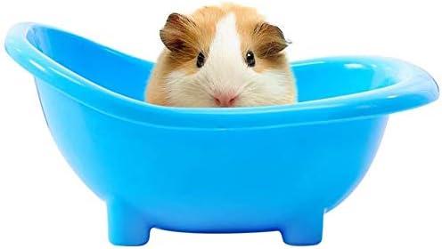 NXL Mini Hamster Gerbils Bathtub Small Pets Bath Sand Room