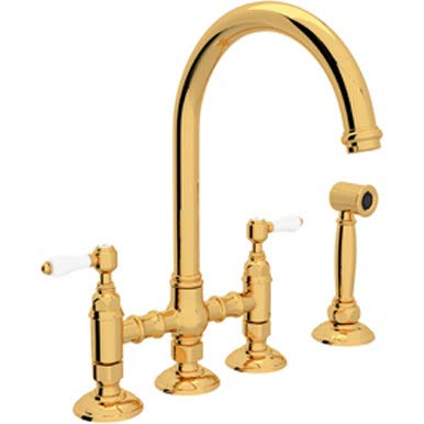 (ROHL A1461LPWSIB-2 KITCHEN FAUCETS Italian Brass)
