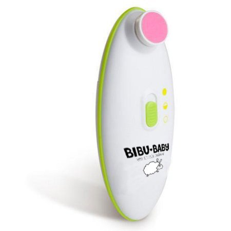 Bibu Baby electric nail trimmer by naturulse