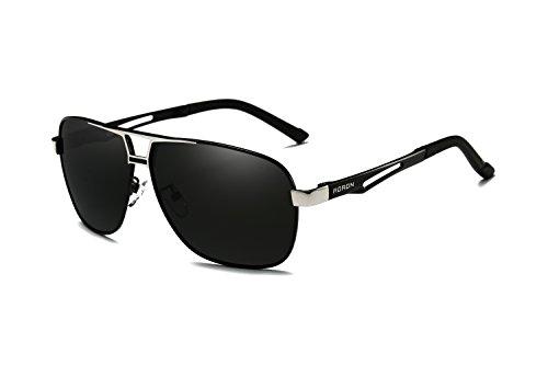 hombre AORON Gafas de negro para sol UR7Yqw0
