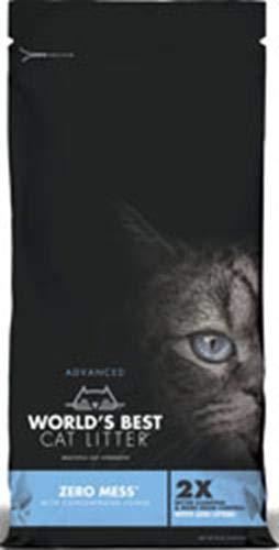 World's Best Zero Mess Advanced Cat Litter 24lb by World's Best